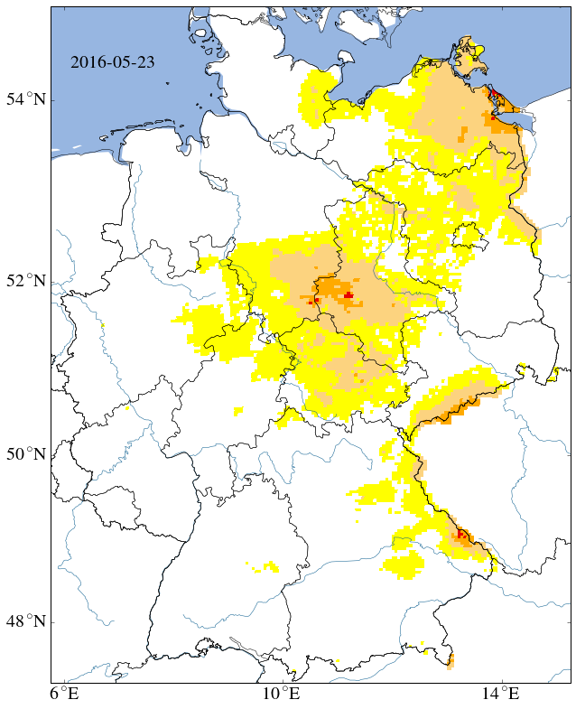 Current Drought Situation, uppermost 25cm.